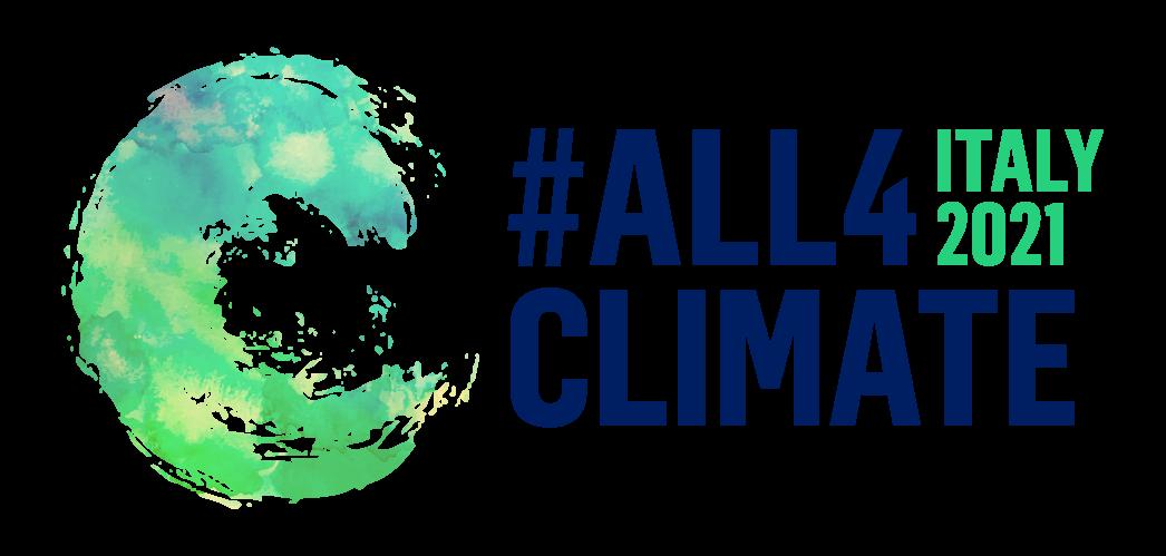 All4Climate Italy 2021 logo